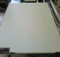 建材床にセキスイ美草を使用して新畳作業!