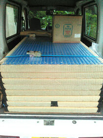 鎌倉市材木座のお客様の畳をお預かりしました。