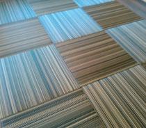 セキスイ美草アースカラーNo8ミッドナイト表で、縁無し畳を納品しました。