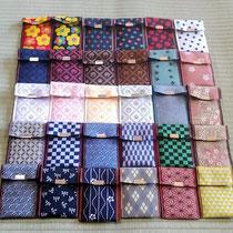 畳縁カードケースです。
