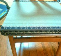 一人用椅子の畳です。