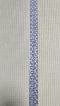 畳縁は、アラベスクNo570を使用して、熊本産表で畳替えしました。