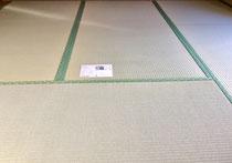熊本産表を使用して京間サイズの畳を納品しました。