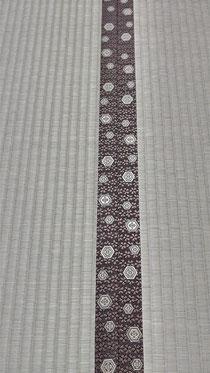 畳縁は、アラベスクⅤNo550を使用しました。