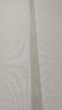 畳縁は、同系色のモカベージュ色を使用しました。