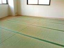 おしゃれ横丁の物件に、熊本産表を使用して新畳を納品しました。