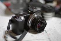 SWH15mm+ビューファインダー