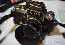 甲斐氏のカメラ・Nikon F