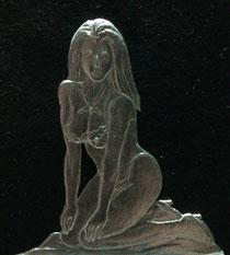 Lily 75mm Figur einseitige Gravur: K.W. Rieger