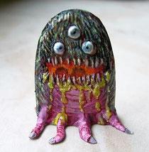 kleines Monster 30mm  Bemalt von Angela Friedl