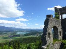 Blick zum Faaker See von Finkenstein