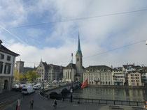 Zürich das Handelszentrum der Schweiz