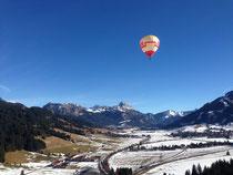 19.Internationales Ballonfest in Tannheim (Pressemeldung Bezirksblatt)