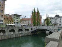 Ljubljana ehemals Leibach