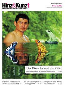 Titelbild Hinz & Kunzt, Nr. 173, Juli 2007, Foto von Mauricio Bustamante