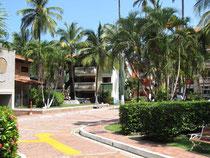 Das Hotel Mendihuaca an der Bucht von Guachaca