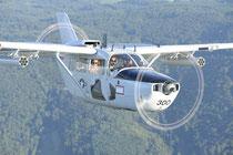 Cessna O-2A Super-Skymaster - N590D (Bild: Philipp Prinzing)