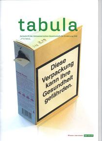 Bericht im tabula, Sommer 2012