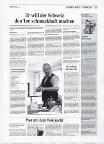 Bericht in der Zürichsee-Zeitung am 25.10.2011
