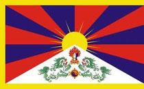 Tibetanische Flagge