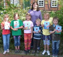 Herzlichen Glückwunsch an die Gewinner der Drachenhof Feuerfels-Bücher!