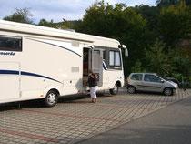 Parkplatz-Camping in Münstertal