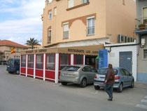 Restaurante Campana, Tarifa