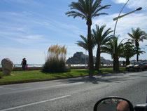 Burg von Peniscolar, Drehort für den Film El Cid
