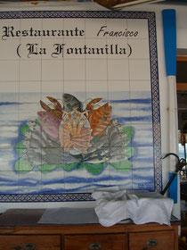 Restaurante Francisco, Conil de la Frontera. Playa Fontanilla