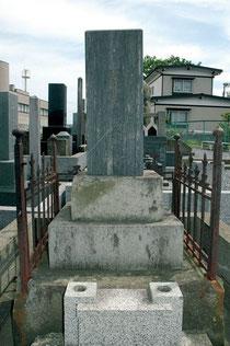 八戸市にある蒲生家の墓