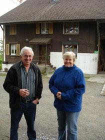 Gastgeber Franz und Anni Bättig