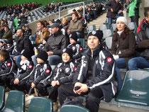 Besuch des Spiels Borussia MG gegen den VfL Wolfsburg 2010