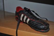 Der Schuh zum Finalsieg