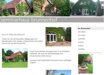 Homepage von Seminarhaus Brunnenhof, Manuela Pietza, Syke-Gessel