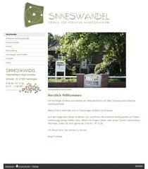 Homepage von Sinneswandel, Praxis für Kreative Homöopathie, Birgit Schlake, Bassum