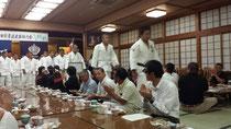 8月1日、高田高校と戴星学園の柔道壮行会が市内の中之島旅館で開催されました。私も中学校と高校時代の6年間、柔道をしていました。その頃を思い出します。