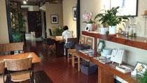 昭和の町に最近オープンした『カフェ かしゅかしゅ』でお昼ご飯。