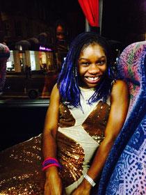 On my way to the Edinburgh press night party!