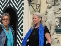 Zwei Nordlichter in Wien: Peti Songcatcher (re) und ich
