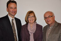 Dr. Andreas Heusch, Dr. Nicola Haderlein, Michael Brockerhoff (v.l.)