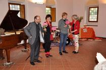 Klaus, Dorothee, Felix Wallrath, Barbara Krug (v.l.)