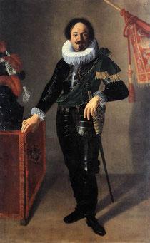 """5.""""Portrait d'un gonfalonier"""", 1622, Palazzo d'Accursio, Bologne (source : WGA)."""