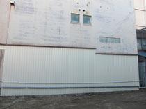 芸壁の補修。