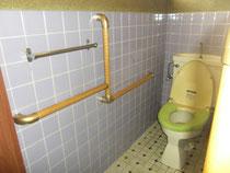 トイレの手すり取付