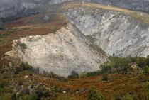Enorme glissement de terrain en 1982 aux Eaux-Bonnes © G. Daid