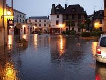 Place du Bayaa à Salies-de-Béarn © République des Pyrénées
