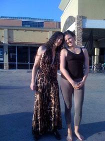 mit Ana T. Forrest während meinem Teacher Training in Houston 2011