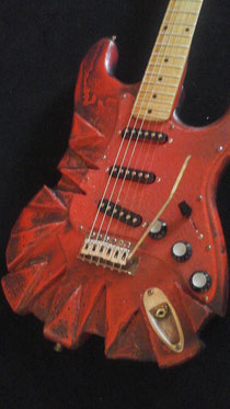 Mika Custom Art Guitar.