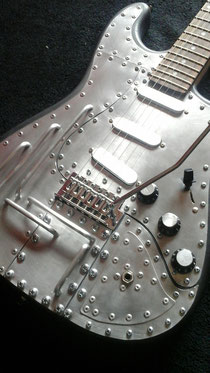 Mika Custom Steelpunk Guitar.
