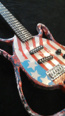 Mika Custom Art Guitar